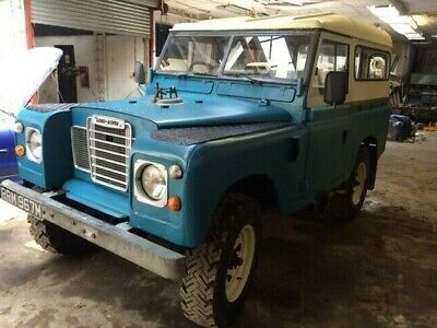 Land Rover Series 3, 1974. Historic Vehicle Registered.