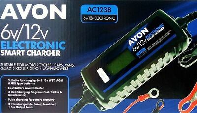 Avon 12v Smart Automatic Battery Charger