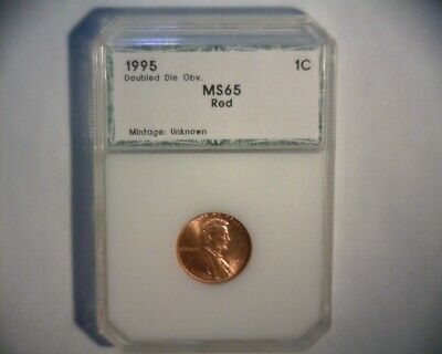 1995 Lincoln Cent Double Die Obverse >Fs-101<> High Grade< Us Error Coin