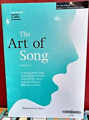 The Art of Song - Selected Songs for Grades 1-5, New old stock