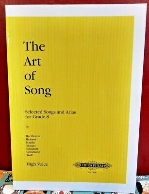 The Art of Song - Selected Songs and Arias for Grade 8, New old stock