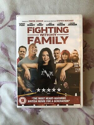 NEW And Sealed Fighting With My Family DVD 2019