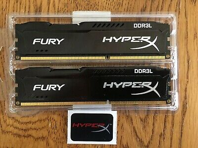 Kingston 8GB (2 x 4GB) DIMM DDR3 1600 (PC3 12800) Memory (HX316C10FBK28)