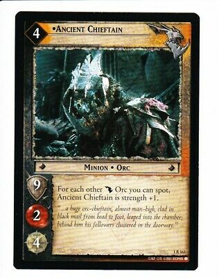 LORD OF THE RINGS CCG FotR  ANCIENT CHIEFTAIN
