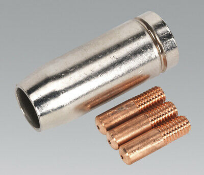 Sealey MIG954 Conical yeszzle x 1 Contact Tip 0.8mm x 3 TB14