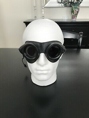 Vintage Blue Welding Glasses ( Motorcycle , Steampink )