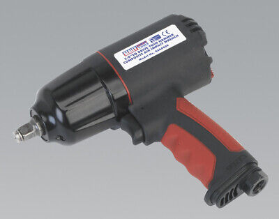 """Genuine SEALEY GSA6000 Composite Air Impact Wrench 3/8""""Sq Drive Twin Hammer"""
