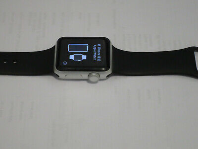 Apple Watch Series 3 38mm Nike+ Silver Aluminum Case with Bands *For Parts Only*