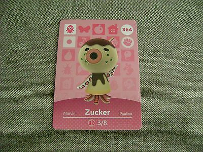 Nintendo Animal Crossing New Leaf Amiibo Card ZUCKER #364 Welcome HHD NEW!