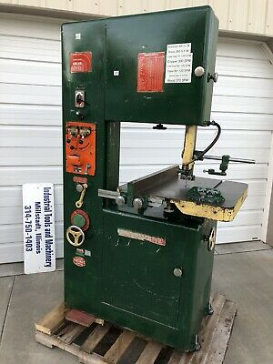 """Powermatic 87 Variable Speed Vertical Bandsaw 20"""" With Blade Welder and Guides"""