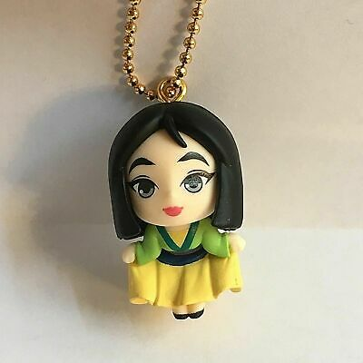 ガシャポン GASHAPON DISNEY Gachapon PRINCESS MULAN kawaii strap Takara TOMY ARTS