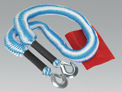 Genuine SEALEY TH2502 | Tow Rope 2000kg Rolling Load Capacity