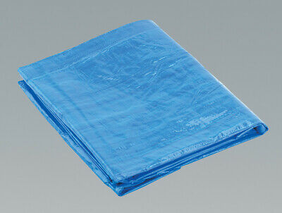 Sealey TARP810 Tarpaulin 2.44 x 3.05mtr Blue