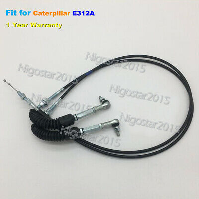 Throttle Motor Control Cable for Caterpillar CAT Excavator E312A 1-Year Warranty