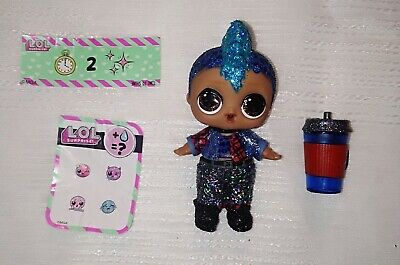 Lol Surprise Sparkle Series Punk Boi Authentic New not played with