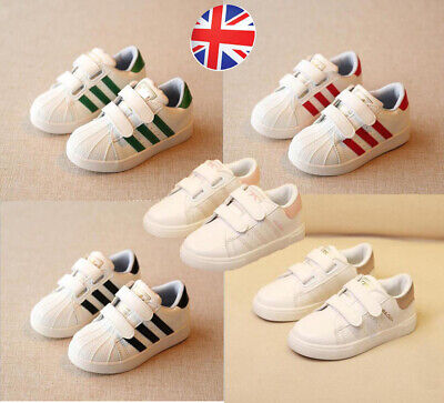 UK Kids Baby Girls Boys Shoe Toddler Child Sports Running Trainers Shoes 2019