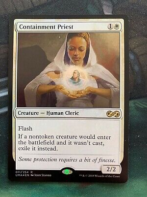 English Ultimate Masters MTG Magic 1x Containment Priest NM-Mint