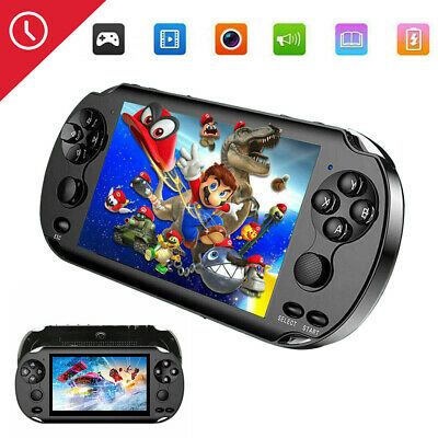 """5.0""""128 Bit Handheld Video Game Built-In 1000 Games Portable Console Player"""