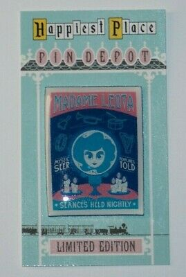 Disney Haunted Mansion 50th Anniversary Madame Leota seance custom fantasy pin