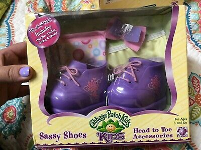 Cabbage Patch Kids Sassy Shoes And Accessories