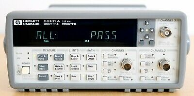 HP / Agilent 53131A 225 MHz Universal Frequency Counter/Timer Option 010 & 030