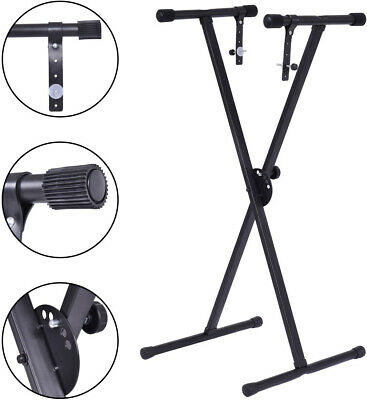 Adjustable Keyboard Piano X-Stand Electric Organ Rack