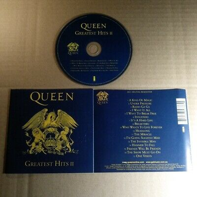 Queen ‎- Greatest Hits II AUSTRALIA CD VG  #1511