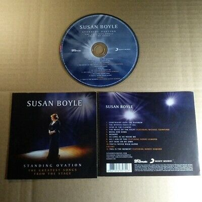 Susan Boyle - Standing Ovation: The Greatest Songs From The Stage CD VG  #1512