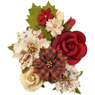 Prima Marketing - Mulberry Paper Flowers - Christmas Song/Christmas In The Co...