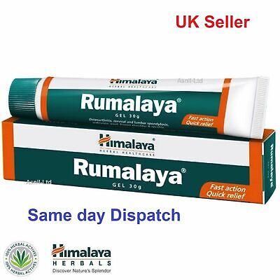 Rumalaya Gel 30g For Active Joints & Muscles  , Back pain