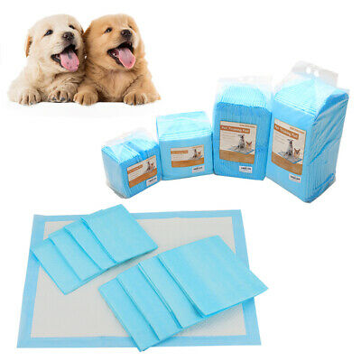 50 100 150 200 90x60CM LARGE PUPPY TRAINING PADS TOILET PEE WEE MATS PET DOG CAT