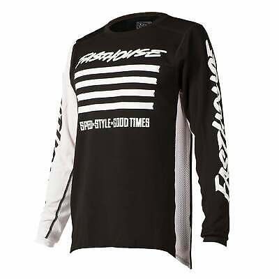 Fasthouse Slash Mens Jersey Moto - Black All Sizes