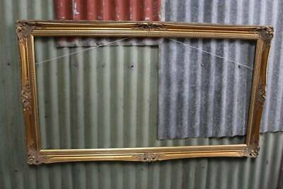 A Classical Vintage Gilt Timber Frame 1265mm x 1060mm - Suit Picture or Mirror