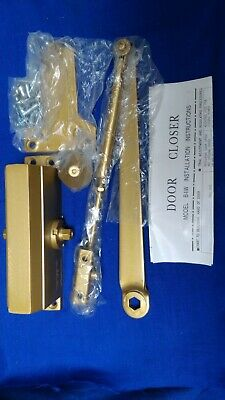 Automatic Overhead Door Closer Gold COLOURED