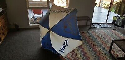 schweppes vintage retro umbrella beach picnic market cola advertising 60's? 30A