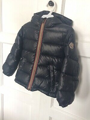 f5ef8757b BOYS GENUINE MONCLER Coat, Navy Blue, Age 12 - £250.00 | PicClick UK
