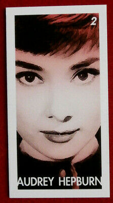 AUDREY HEPBURN - Card # 02 individual card, issued by Redsky in 2011