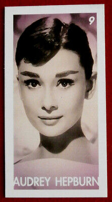 AUDREY HEPBURN - Card # 09 individual card, issued by Redsky in 2011