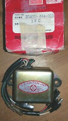 Nos Honda Elsinore Cr 125 Rz 1979 Cdi Module Unit Assy 30400-444-003 Red Rocket