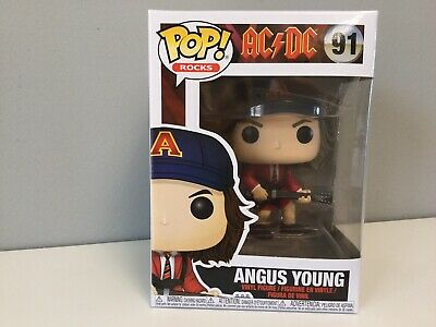 Funko POP Rocks  - AC/DC Angus Young - Red Jacket Exclusive!