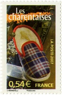 """timbre France neuf 2007 """"les charentaises"""" y&t 4102"""