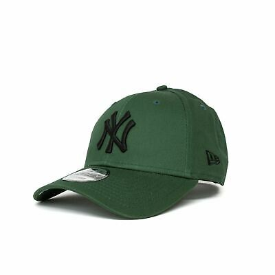New Era League Essential New York Yankees 9FORTY Cap - Olive/Black
