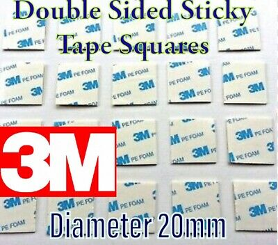 Double-Sided 3M Self Adhesive Sticker Sticky Pad squares