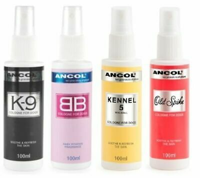 Ancol Dog/Puppy Perfume Cologne and Deodorant Spray