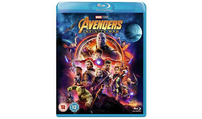 Marvel Avengers: Infinity War Blu-ray (2018) in collectible slipcover