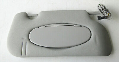 Genuine Used MINI O/S Drivers Side Grey Sun Visor (Vanity lights) - R56 R55 #37