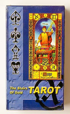 New 78 The Stairs Of  Gold Tarot Cards Deck + shot manual in Russian