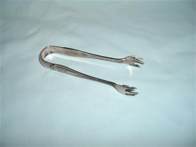 Antique Sterling Silver Sugar Tongs Patent 1912 Hallmarked 22 1/2 Gms Exc Con