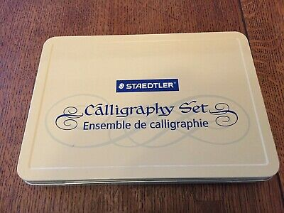 Staedtler Calligraphy Pen Starter Kit with Interchangeable Points, 33 Piece Set