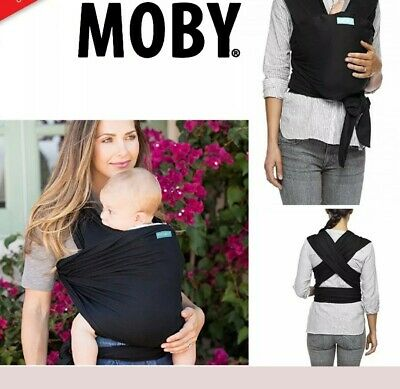 Moby Adjustable Wrap stretchy cotton Baby Carrier Sling Newborns Toddlers Infant